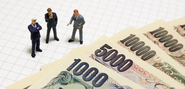 経営者とお金のイメージ画像
